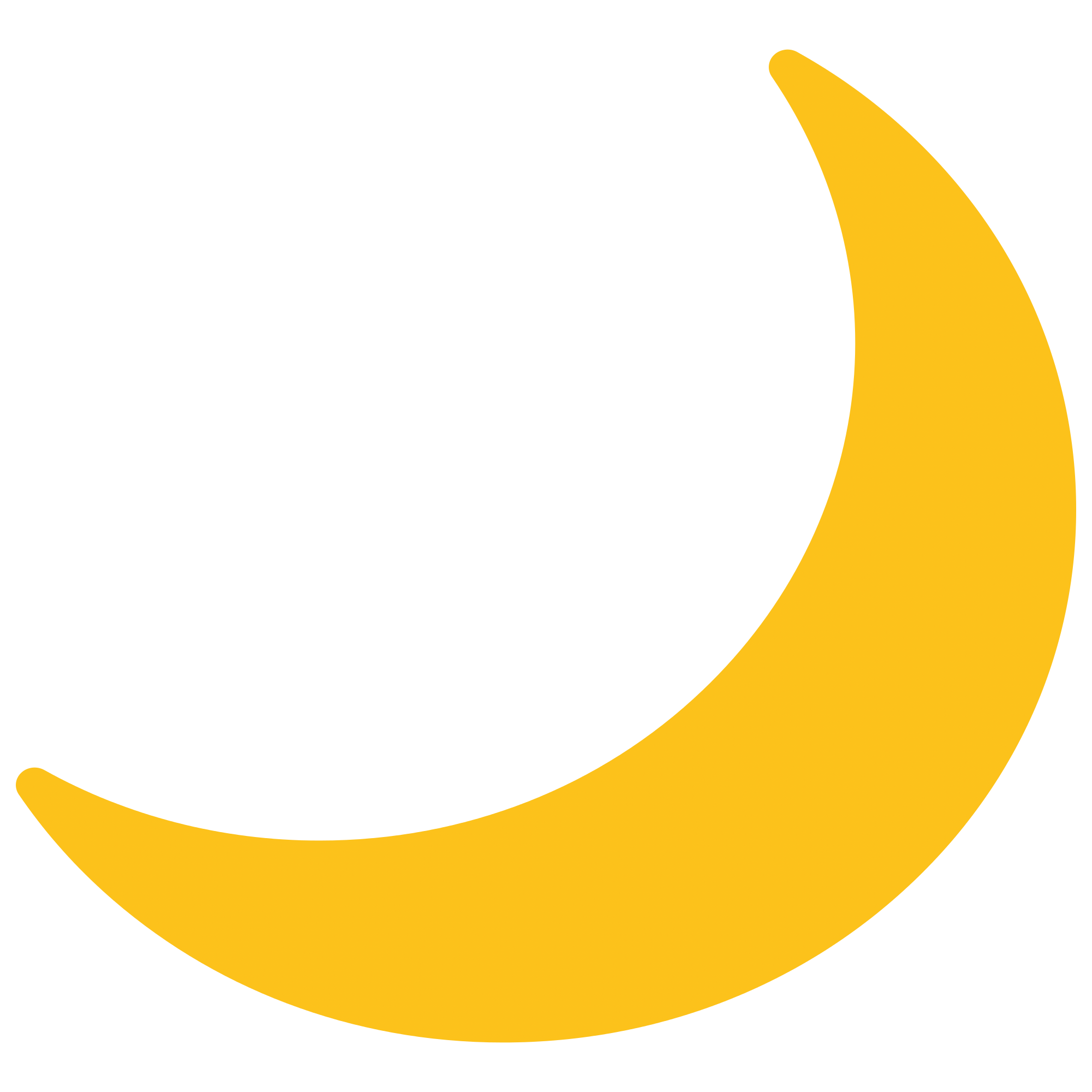 Emoji Moon transparent PNG.