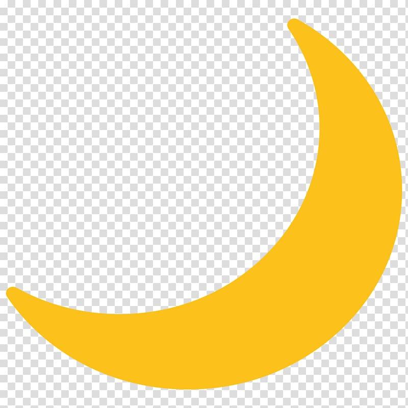Emoji Lunar phase Moon Sticker , moon transparent background.