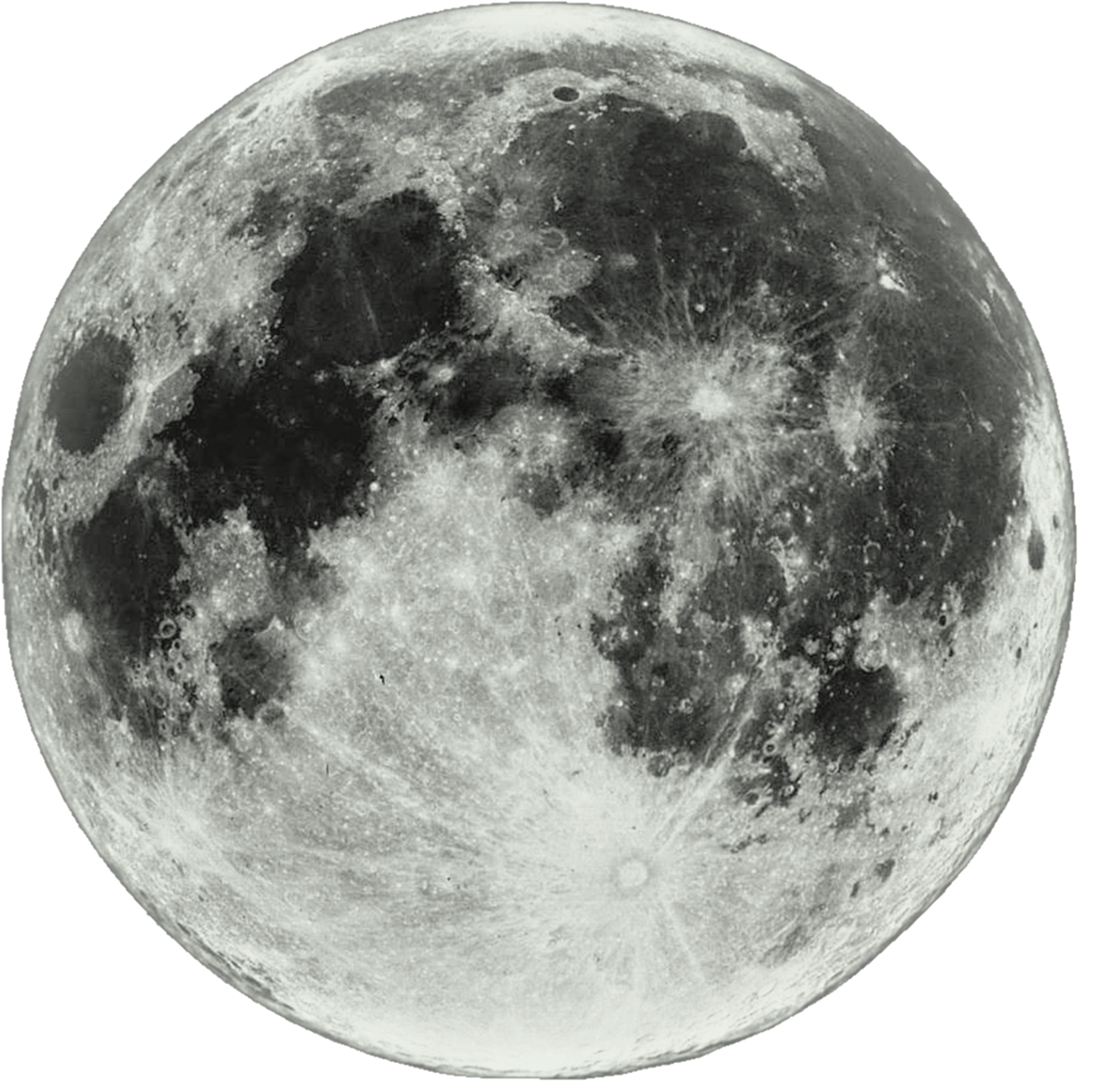 Moon Transparent Background.
