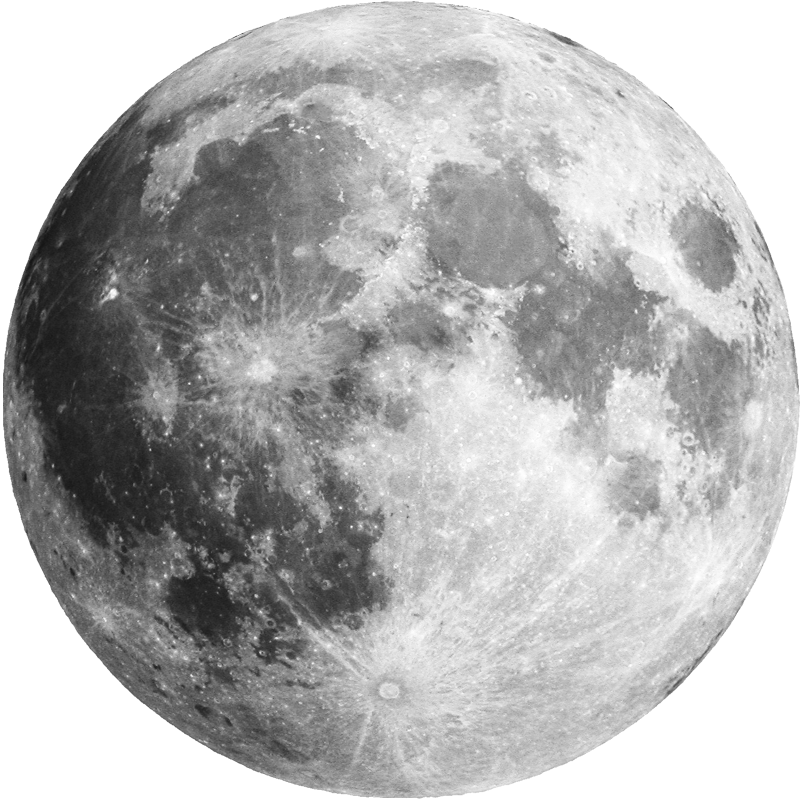 Super Moon transparent background image.