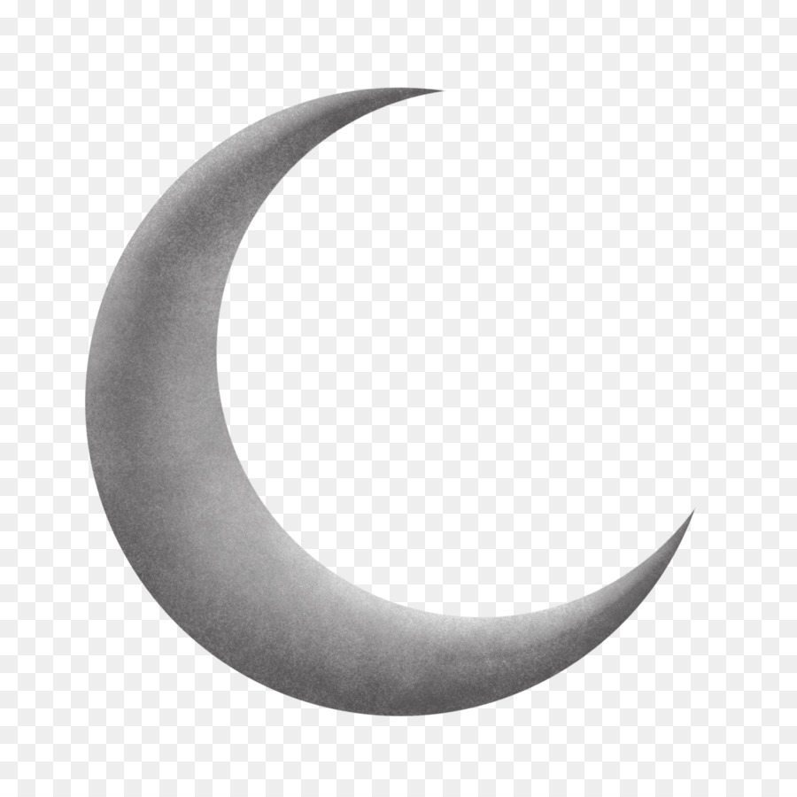 Crescent Moon Drawing.