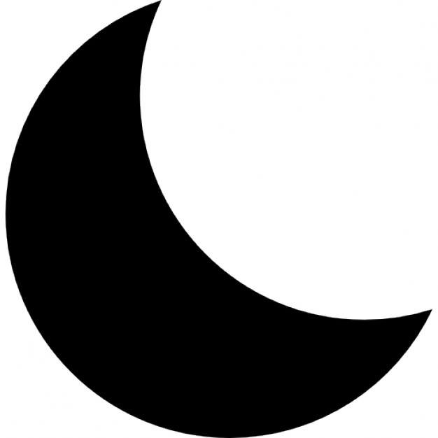 Moon Vector Icon #328214.
