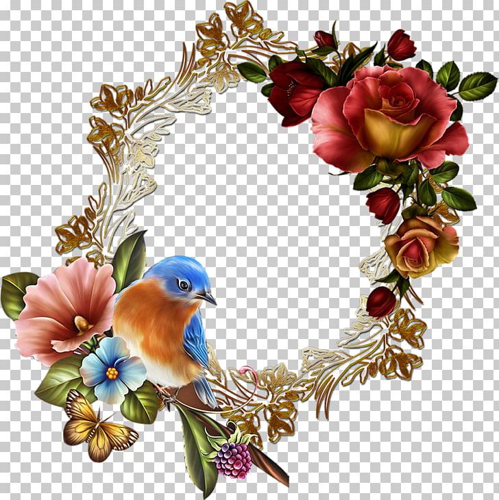 Floral design Wreath, moonbeam PNG clipart.