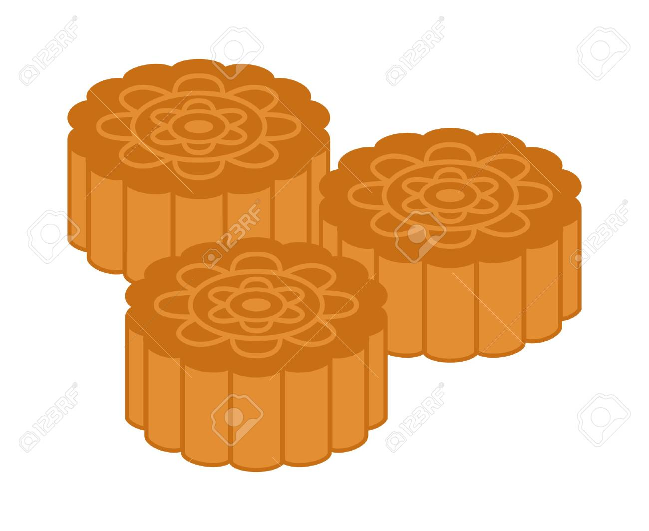 Mooncakes or moon cakes for the Mid.