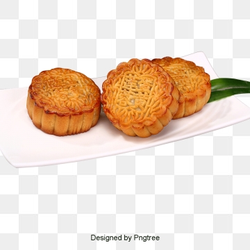 Moon Cake PNG Images.