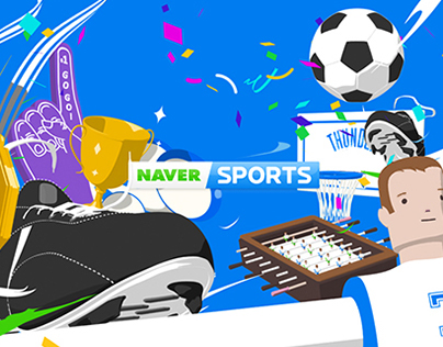 NAVER SPORTS Rebrand Graphic Package on Behance.