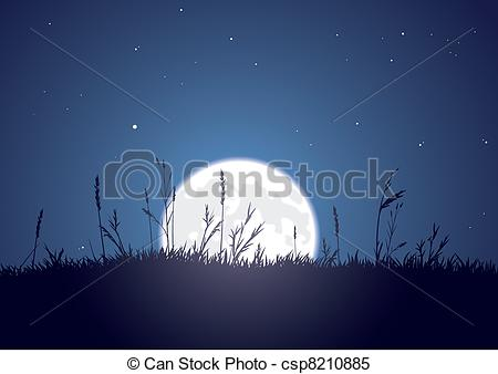 Moonrise Stock Illustrations. 152 Moonrise clip art images and.