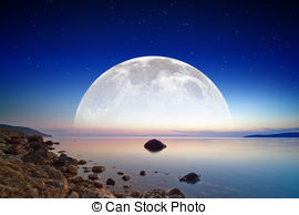 Blue moon rise Illustrations and Stock Art. 321 Blue moon rise.