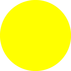 Yellow Crescent Moon Clipart.