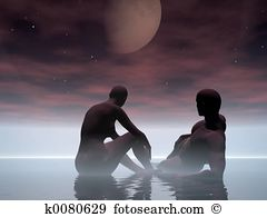Moonset Stock Photo Images. 342 moonset royalty free pictures and.