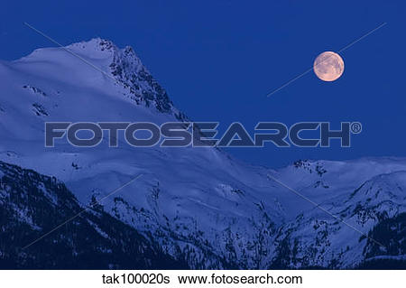 Stock Images of Moonset tak100020s.