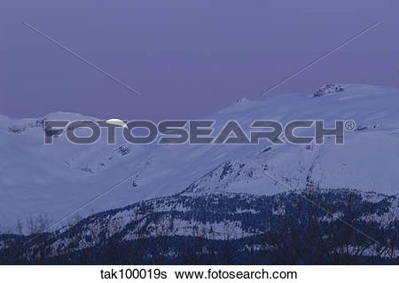 Stock Images of Moonset tak100019s.