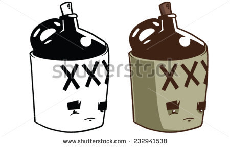 Moonshine Stock Images, Royalty.