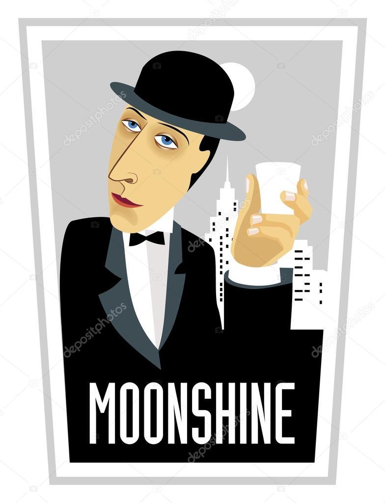 Showing post & media for Cartoon man moonshine.