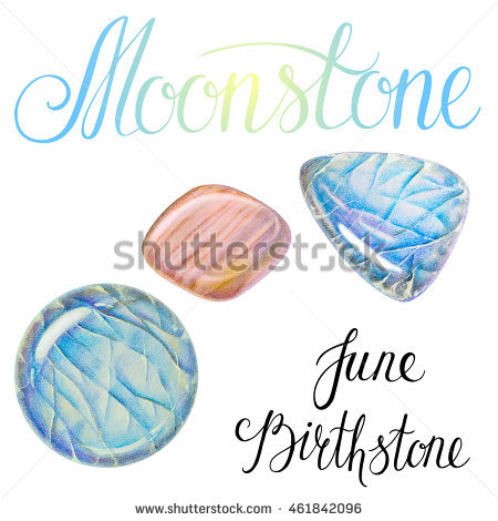 Moonstone Stock Photos, Royalty.