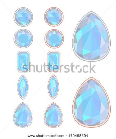 Set Of Five Forms Of Moonstone (Adularia) Cut And Two Kinds Of.