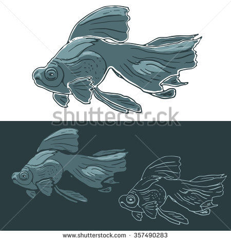 Dragon Eye Goldfish Stock Vectors & Vector Clip Art.