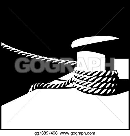 Mooring rope clipart #20