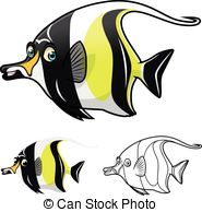 Moorish idol Stock Illustrations. 129 Moorish idol clip art images.