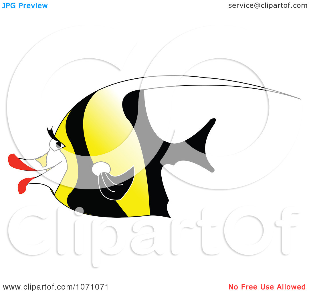Clipart Moorish Idol Fish.