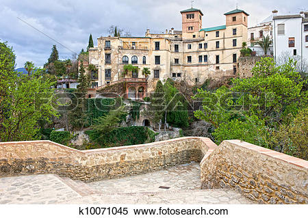 Stock Image of House of the Moorish King in Ronda k10071045.