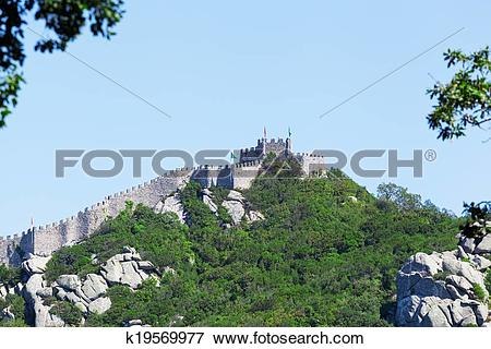 Picture of Castle of the Moors (Portuguese: Castelo dos Mouros) is.