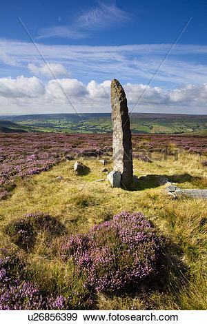 Stock Photograph of England, North Yorkshire, Blakey Ridge.