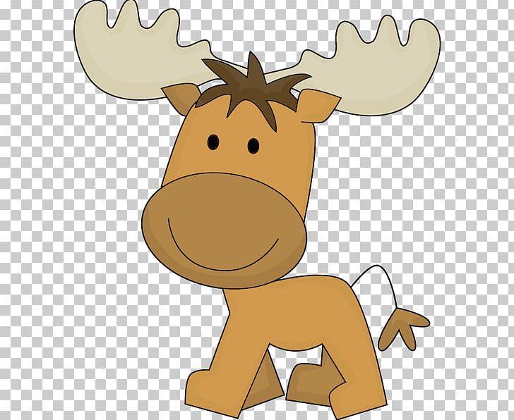 Moose Cuteness PNG, Clipart, Antler, Cartoon, Clip Art, Cute.