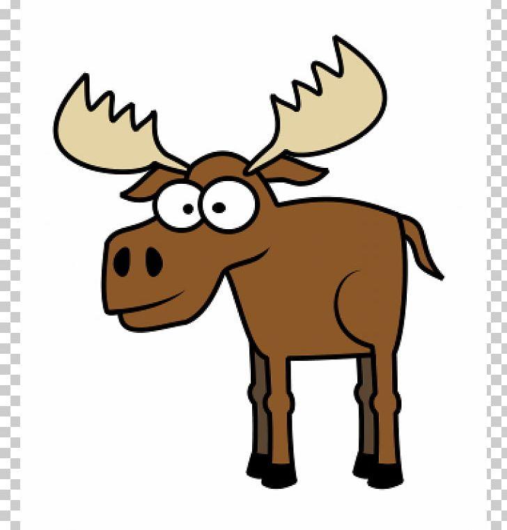 Moose Deer Drawing Cartoon PNG, Clipart, Animal Figure.