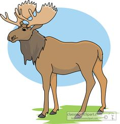 Moose clipart cartoon free clipart images 3.