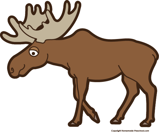 Free Moose Clipart.