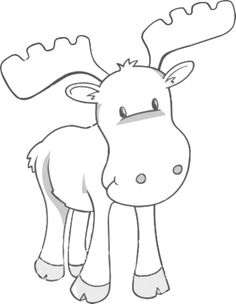 225 Best moose clipart images in 2019.