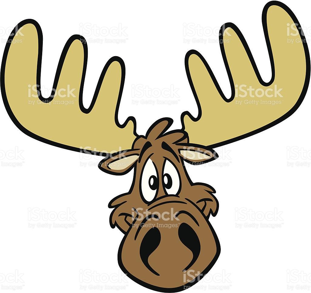 Cute Moose Clipart at GetDrawings.com.