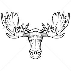 How To Draw A Moose Face Group with 56+ items.
