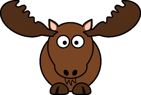 Moose Face Clipart.