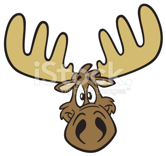 Image result for moose head clip art.