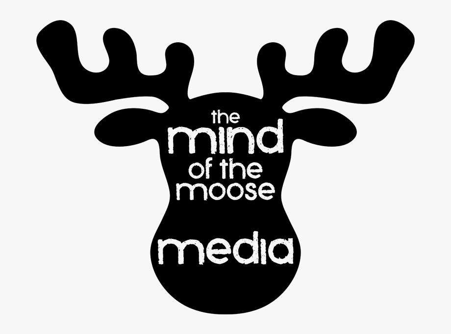Cartoon Moose Head.