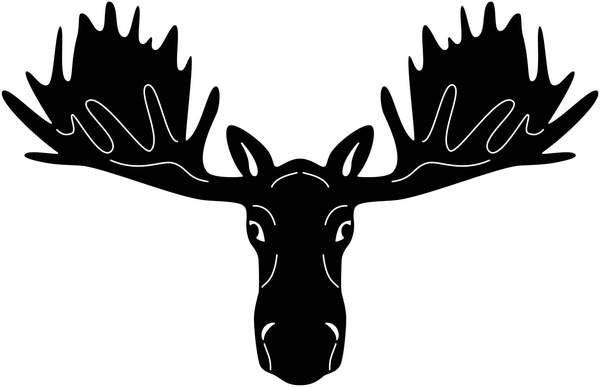 Moose Head Free DXF file.
