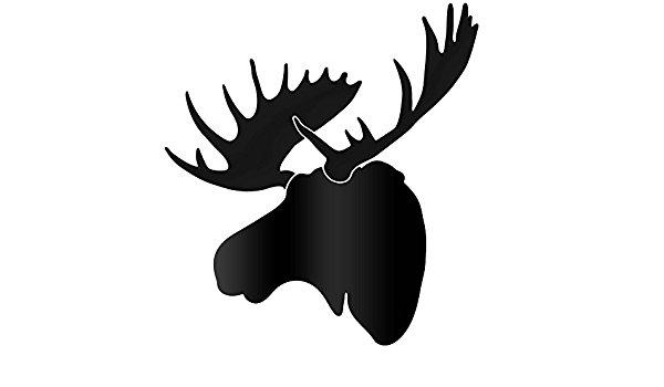 Moose Head Silhouette at GetDrawings.com.