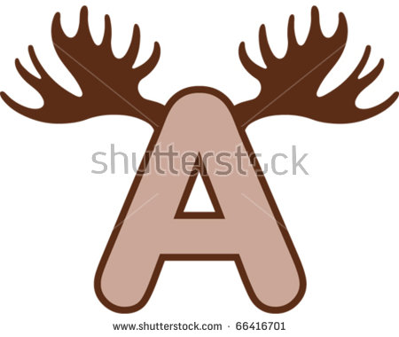 Moose antlers vector free vector download (89 Free vector) for.