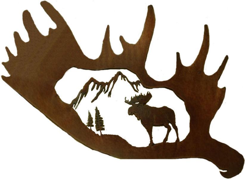 Moose Antlers Clipart.