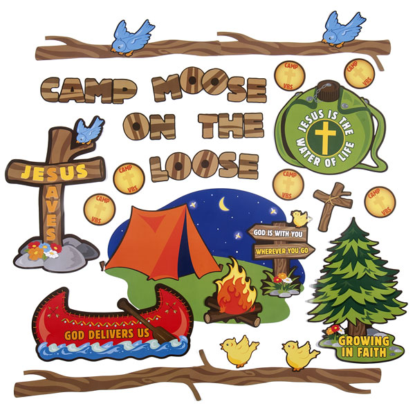 Camp moose on the loose clipart 1 » Clipart Station.
