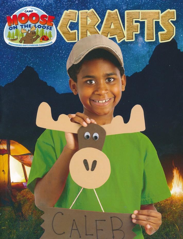 Camp Moose on the Loose: Craft Ideas Book.