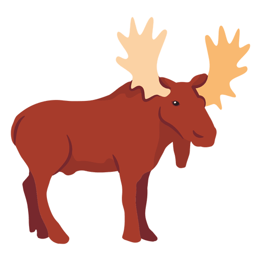 Moose Png Vector, Clipart, PSD.