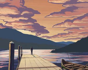 Moosehead lake.