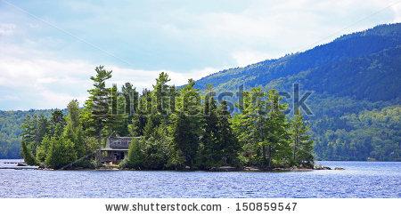 Moosehead Lake Stock Photos, Royalty.