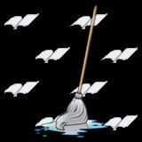 Wet Mop Clipart.