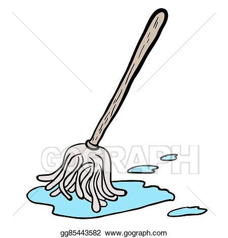 Mop clipart.