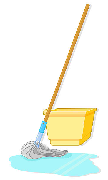 Cleaning Mop Clipart.