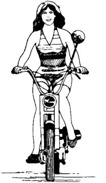 Moped Clip Art Download.